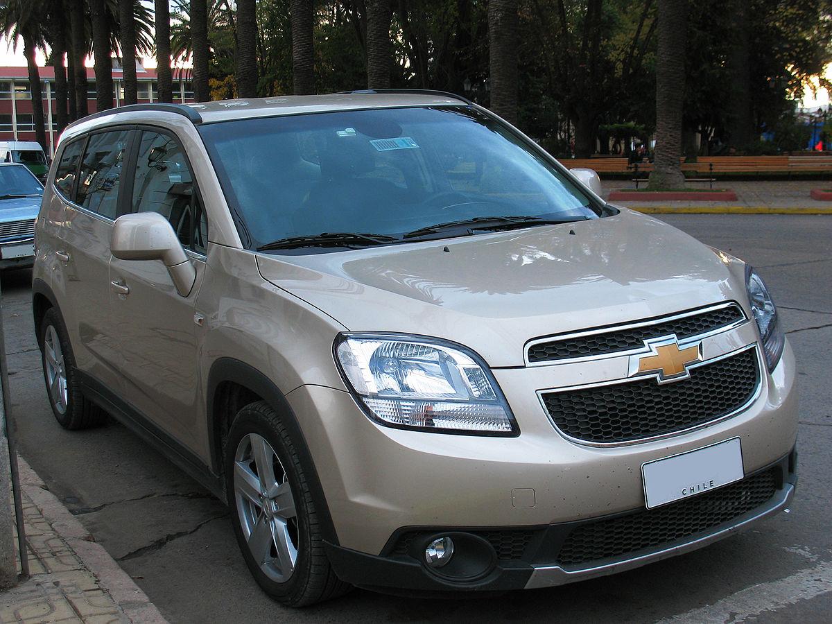 H And H Chevrolet >> Chevrolet Orlando — Wikipédia