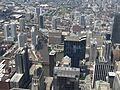 Chicago River from Willis Tower Skydeck, Chicago, Illinois (9179366469).jpg