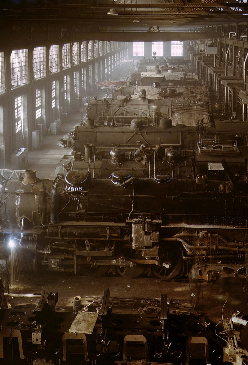 Chicago and Northwestern railroad locomotive shop fsac.1a34676u.jpg