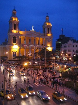 St. Mary's Cathedral, Chiclayo