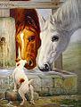 Chien et chevaux.jpg