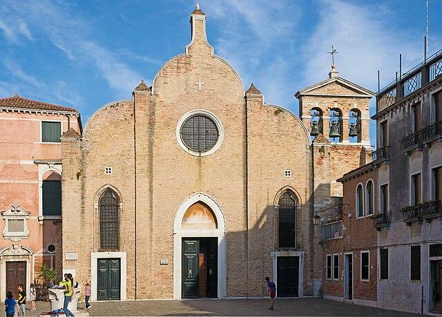 Церковь Святого Иоанна в Брагоре, где в 1678 году был крещён Антонио Вивальди...
