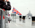 Child Awaits Return of HMS Kent MOD 45150929.jpg