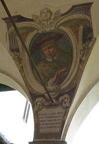 Chiostro di ognissanti, personalità francescane 40 Hélie de Bourdeilles.JPG