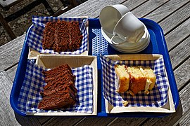Chocolate cake and Victoria sponge.jpg