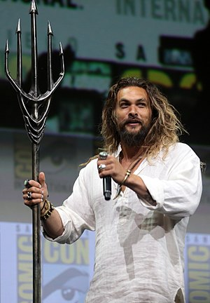 Aquaman (film) - Jason Momoa at 2017 San Diego Comic-Con International