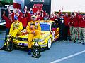 Christian Abt und Kris Nissen mit dem Abt-Team, STW 1999.jpg