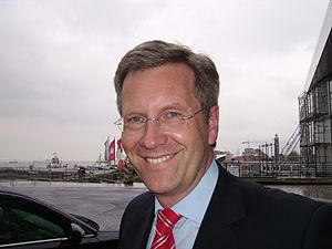 Christian Wulff, the Prime Minister of the Ger...