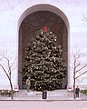 Christmas Tree and Menorah, City-County Building, Pittsburgh, 2020-01-07.jpg