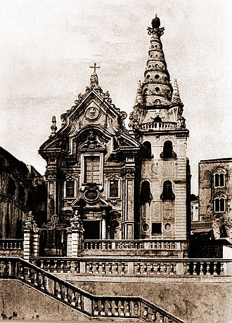 Filippo Juvarra - Church of San Gregorio, Messina