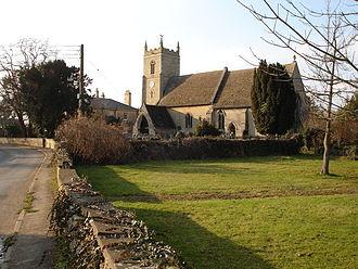 Barholm - Image: Church at Barholm geograph.org.uk 131492