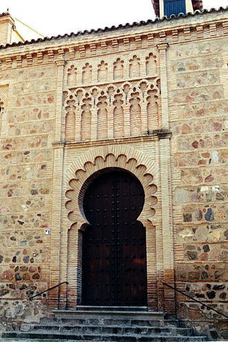 Iglesia de Santa Leocadia, Toledo - Portal