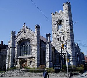Church of the Messiah (Toronto) - The Anglican Church of the Messiah on Avenue Road