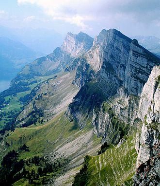 Appenzell Alps - Image: Churfirsten 01