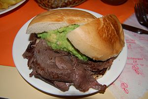 Churrasco - Churrasco sandwich
