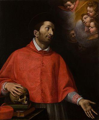 Alessandro Farnese (cardinal) - Cardinal Carlo Borromeo