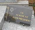 Cimetière de Villefranche-sur-Saône - Plaque Classe 52.jpg