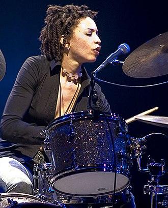 Cindy Blackman Santana - Cindy Blackman performs at Sesc Pompéia on August 1, 2007.