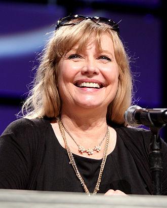 Cindy Morgan - Cindy Morgan at Phoenix Comicon in May 2013, promoting Tron