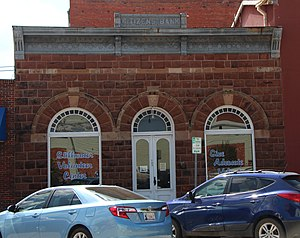 National Register of Historic Places listings in Payne County, Oklahoma - Image: Citizens Bank Building 1