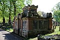City of London Cemetery Anchor Road south side first Pedley family vault 2.jpg