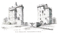 Clackmannan Tower - Views from South-West and North-East.png