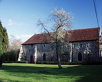 Edmund Mortimer, 5th Earl of March - Clare Priory, Suffolk, burial place of Edmund Mortimer