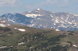 Clark Peak (Medicine Bow Mountains) mountain in Colorado, United States of America