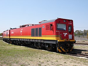 South African Class 21E - Image: Class 21E 21 004