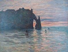 Claude Monet-Soleil couchant à Etretat.jpg