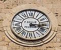 Clock on bell tower of Collegiate Church of St. John.jpg