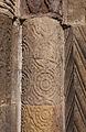 Clonfert Cathedral Portal Left Jamb Fourth Order Column 2009 09 17.jpg
