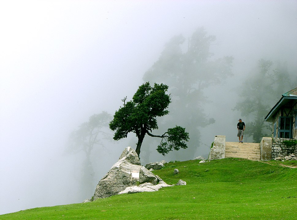 Cloudy Triund, above Mcleod Ganj, Himachal Pradesh