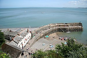 Manor of Clovelly - Image: Clovelly Harbour geograph.org.uk 875463
