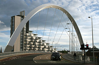 Clyde Waterfront Regeneration - Clyde Arc