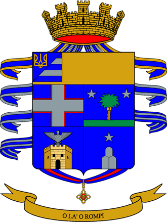 14th Alpini Regiment - Coat of Arms of the 14th Alpini Regiment
