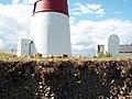 Coastal erosion near Orford Ness lighthouse - geograph.org.uk - 934801.jpg