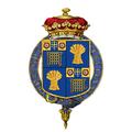 Coat of Arms of Gerald Grosvenor, 6th Duke of Westminster, KG, CB, CVO, OBE, TD, CD, DL.png