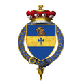 Coat of Arms of John Baring, 7th Baron Ashburton, KG, KCVO, DL.png