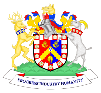 Coat of arms of Bradford - The coat of arms of Bradford City Council
