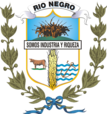 Coat of arms of Rio Negro Department.png
