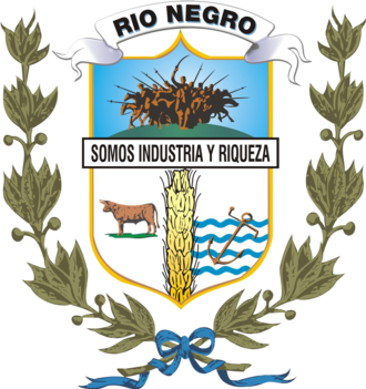 Río Negro Department - Image: Coat of arms of Rio Negro Department