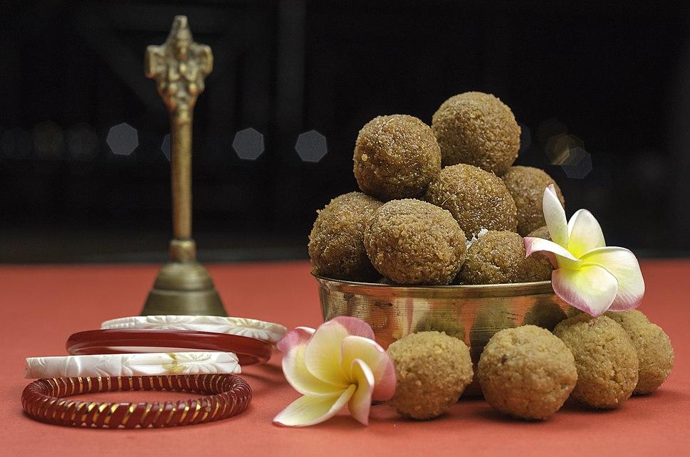 Coconut and Jaggery Balls ...... Bengali Narkel Naru