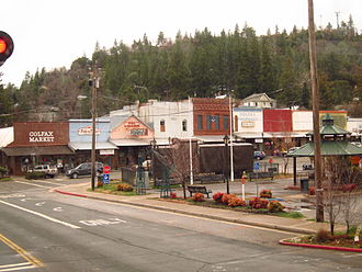 Placer County, California - Image: Colfax, CA