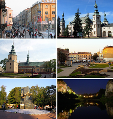 Collage of views of Kielce.png