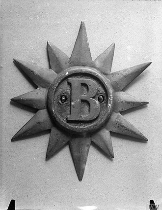 HMS Brilliant (1891) - Ship's badge of HMS Brilliant (IWM Q20182)