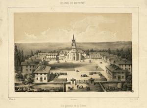 La colonie agricole et pénitentiaire de Mettray