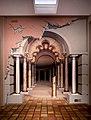 Colonnade, trompe l'oeil mural by John Pugh.jpg