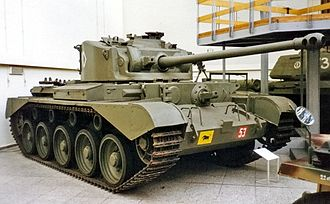 Comet (tank) - A Comet tank on display at the Militärhistorisches Museum der Bundeswehr.