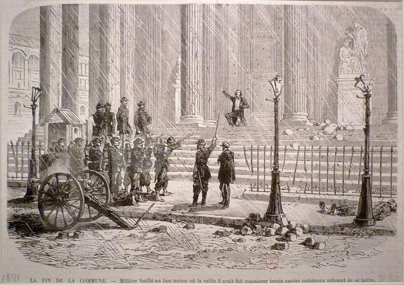 Fichier:Commune de Paris 26 mai Millière fusillé.jpg